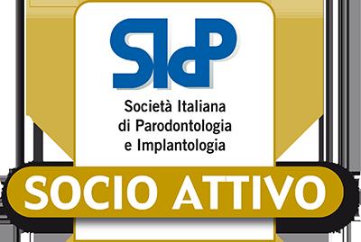 Socio Attivo della Società Italiana di Parodontologia e Implantologia
